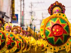 17 Most Beautiful Fairs and Festivals in Philippines Kadayawan Festival, Sinulog Festival, Zamboanga City, Air Balloon Festival, Bacolod City, Siargao Island, Filipino Art, Fairs And Festivals, Mindanao