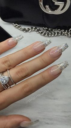 40 Fabulous Ways to Wear Glitter Nails, Looks a Cute Women Part glitter nails; glitter nails ombre Nails 40 Fabulous Ways to Wear Glitter Nails, Looks a Cute Women Part 3 Glitter Acrylics, Cute Acrylic Nails, Glitter Nail Art, Fun Nails, Red Nails With Glitter, Acrylic Nails Almond Glitter, Red Sparkle Nails, Acrylic Nail Designs Glitter, Gliter Nails