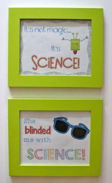 The Science Penguin: Classroom Decorations (Part 3)