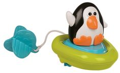 Amazon.com : Sassy Pull and Go Boat Bath Toy : Bathtub Toys : Toys & Games