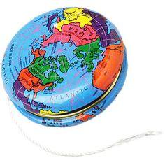 Globe Yo-Yos (1 Dozen) - Bulk US Toy