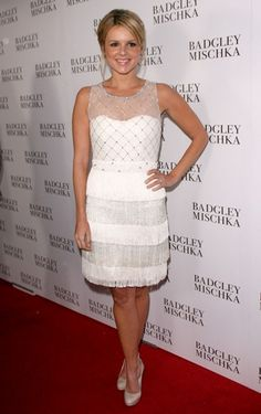 Celebs step out for Badgley Mischka opening
