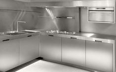 stainless steel kitchen - Szukaj w Google