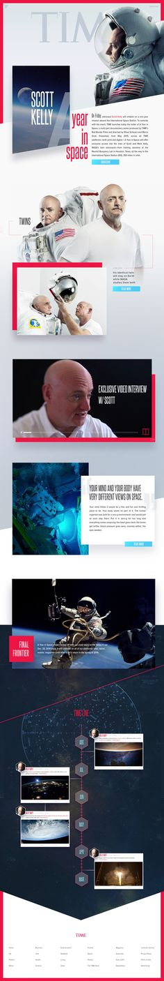TIME Magazine Reimagined - Landing Page Concept by Greg