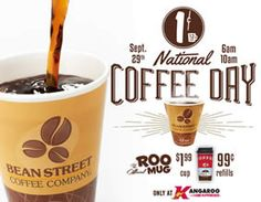 One-Cent Coffee at Kangaroo Express on 9/29 on http://www.icravefreebies.com/