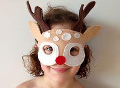 Free Reindeer Mask Pattern