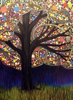 Gumball tree - love it!
