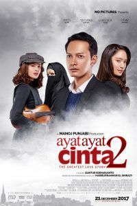 Ayat-Ayat Cinta 2 poster, t-shirt, mouse pad Full Movies Download, Movie Downloads, Trailer Film, Cinema Online, Free Films, Movies Free, Gratis Download, Office Movie, About Time Movie