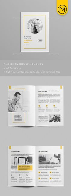 Design a stunning brochure in minutes. Get Brochure Design Services here. Showcase your business, products, and services when you create custom brochures. Design Web, Layout Design, Visual Design, Website Design, Logo Design, Banner Design, Booklet Design Layout, Word Template Design, Layout Book