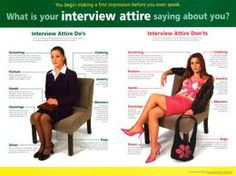Tips on interview attire