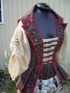 buckles + waistcoat, based on Simplicity 3629, from DragonflyDesignsByAlisa
