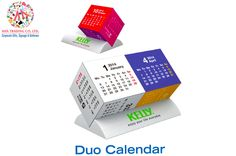 Duo Cube Calendar : For a quotation and further inquiries, please call us on +97142666-167 & aha@ahadubai.com and our sales team will be happy to assist you.