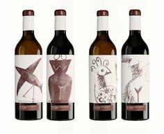 Vino + Arte + Diseño = Vins de Pedra    galería completa en www.bitcreativo.es
