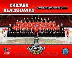 Chicago Blackhawks 2013 NHL Stanley Cup Champions Team Sit Down Photo Photo Print (16 x 20)