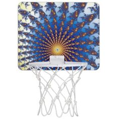Fractal Art 27 Mini Basketball Hoops