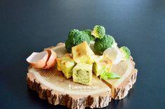 Recette de mini flan brocolis chèvre frais et basilic pour bébé (Dès 10 mois)