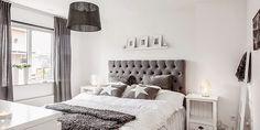 Un piso de estilo nórdico romántico en BLANCO Y GRIS ESPECTACULAR! | Decorar tu…