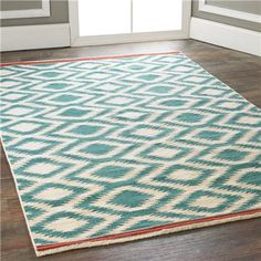reversible wool flatweave rugs.  this is my fav for the money, with the stripe of orange.  $330 retail.  mind you it won't be plush if that's what you want.