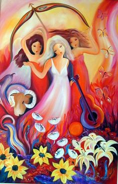 Spirit Paintings - Ronnie Biccard Artist - The Joy of Life Fantasy Images, Art Images, Tango Art, South African Artists, Muse Art, Joy Of Life, Animal Totems, Naive Art, Pictures To Paint