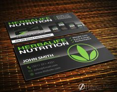 HerbaLife Business Card Design Nutrition By PencoMedia Herbalife Shake Recettes Alimentation