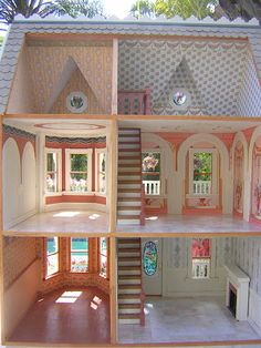 Dollhouses by Robin Carey: The Princess Anne