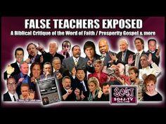 FALSE TEACHERS EXPOSED: Word of Faith/Prosperity Gospel | Justin Peters/...