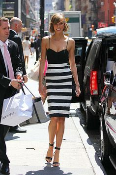 style icon: Karlie Kloss // polished, model off duty
