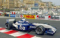 Juan Pablo Montoya won the 2003 Monaco Grand Prix for Williams-BMW. F1 Racing, Racing Team, My Dream Car, Dream Cars, Williams F1, Monaco Grand Prix, Race Engines, F 1, Formula One