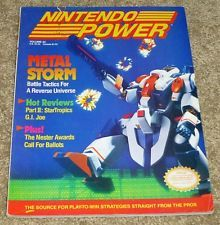 Nintendo Power Magazine Issue - Vol. 22, March 1991 - Metal Storm 8-15