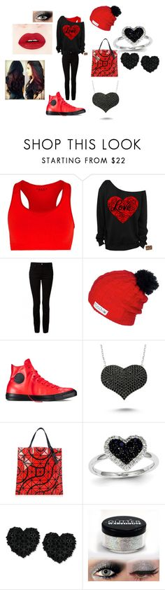 """""""Araeillia"""" by wheeljackisbae ❤ liked on Polyvore featuring Falke, T By Alexander Wang, Flylow, Converse, Amorium, Bao Bao by Issey Miyake, Kevin Jewelers and Betsey Johnson"""