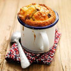 Mug cake banane et madeleine maxi pépites : 30 desserts express hivernaux - Journal des Femmes Cuisiner