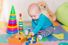 There are a number of behaviors and developmental delays that could indicate your child has autism. Autism In Babies, Autism Signs, Baby Wish List, Developmental Delays, Your Child, Baby Items, Kids Rugs, Toys, Children