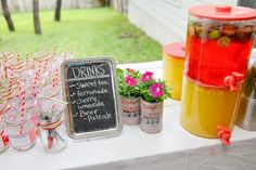 Hostess with the Mostess® - Backyard Barbeque Baby Shower Backyard Barbeque, Barbecue, Backyard Baby Showers, Mason Jar Glasses, Mason Jars, Diaper Parties, Shower Time, Bbq Party, Baby Sprinkle