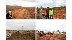 Construcción de obra civil en Angola. Arquitania Business