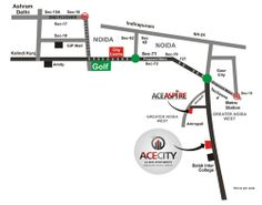 Ace City #Noida Extn Location is near to NH 24 in noida #extension so great location to book your #flat.  Check It Out Here: http://acecity.co.in/acecity-locationmap.html | Call at 8010007788.