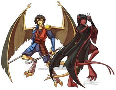 MOAR Avatar the Last Airbender/Gargoyles crossovers. For more Avatar-Goyles Go here: [link] I blame =sylvacoer for getting me into this Crack! Cartoon Shows, Cartoon Characters, Mai And Zuko, Avatar Fan Art, 90s Cartoons, Kids Shows, Aang, Legend Of Korra, Avatar The Last Airbender