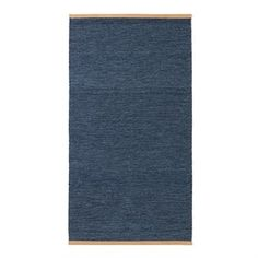The classic Björk rug in blue comes from the Swedish brand Design House Stockholm and is designed by Lena Bergström. The rug is made of high quality wool with a stylish leather edging in a light brown color.  Use the rug in the hallway or maybe in the living room and combine it together with other modern products from Design House Stockholm to create a trendy atmosphere in your home! Choose between different sizes.
