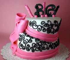 i want this cake for my birthday!