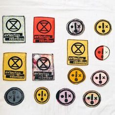 Eco Home – Tattymoo x Juliaheartsu Protest Art, Help The Environment, Clothing Patches, Sew On Patches, Handmade Clothes, Fabric Scraps, Art Pieces, Give It To Me, Embroidery