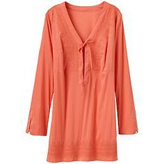 Kimssa Tunic - The stretch voile beach tunic with a flattering empire waistline.