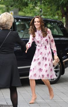 Catherine, Duchess of Cambridge attends the World Mental Health Day celebration with Heads Together at the London Eye on October 10, 2016 in London, England.