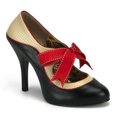 $81 PIN UP SHOES! 1950S VINTAGE STYLE PIN UP SHOES!
