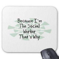 Omdat ik de Maatschappelijk werker ben Muis Matten