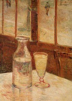 Vincent van Gogh. Still Life with Absinthe. Paris: Spring 1887