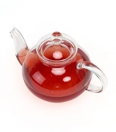 Medium Glass Teapot 27oz
