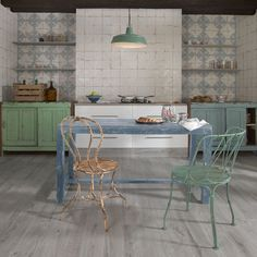 SomerTile 13x13-inch Artesano Azul Decor Ceramic Floor and Wall Tile (Case of 10)