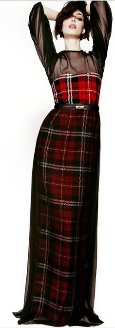 Christmas in Tartan- Perfect Dress for any holiday occasion.