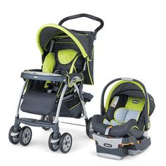 Chicco Cortina Travel System Stroller - Zest  - Chicco       -  Strollers - FAO Schwarz®