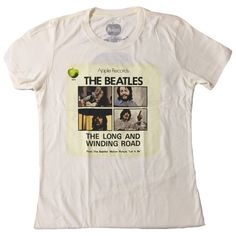 BEATLES Drop T Diamante Ladies T Shirt Tee Womens Fit Official Licensed Merch