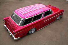 Very Cool Chevy Wagon ! My Dream Car, Dream Cars, Shooting Break, 1955 Chevrolet, 1955 Chevy, Chevrolet Corvette, Chevy Nomad, Us Cars, Station Wagon